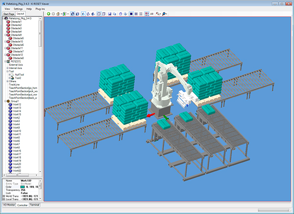 Palletizing Software K-SPARC