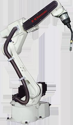 Robot soldadura por arco de Kawasaki