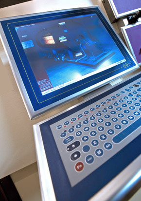 Dispositivo HMI fabricado por Larraioz Elektronika