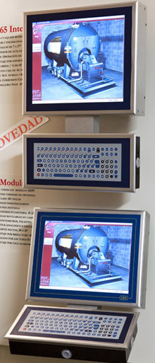 Dispositivos HMI producidos por Larraioz Elektronika