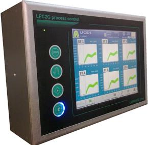 Equipo HMI LPC2G de Larraioz