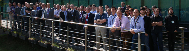 Participantes en el seminario sobre monitorización de procesos de fabricación