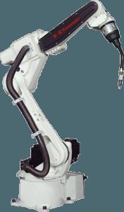 Robot soldadura por arco de Kawasaki Larraioz Elektronika