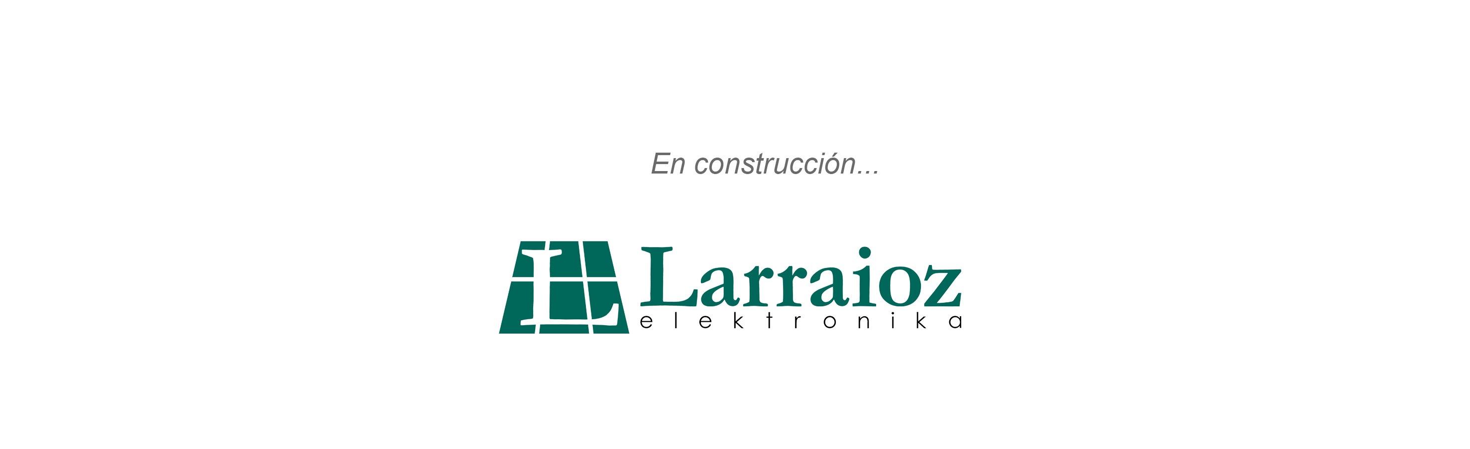 En construcción web Larraioz Elektronika