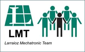 Logo Larraioz Mechatronic Team LMT english