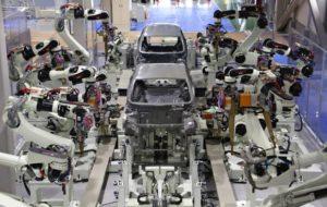 Larraioz Elektronika robots kawasaki trabajando Argentina América