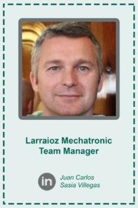 Juan Carlos Sasia LMT Manager ficha artículos Larraioz Mechatronic Team