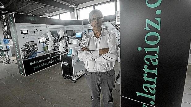 Bittor Larrraioz en Larraioz Elektronika para Noticias de Gipuzkoa LMT