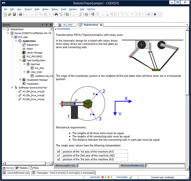 CODESYS MOTION CNC SCREENSHOT