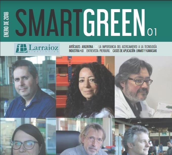 SmartGreen, nuestra nueva revista corporativa