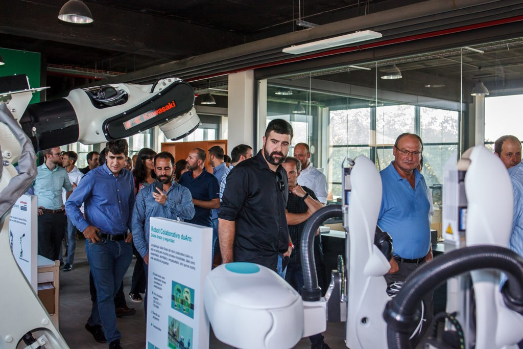 30 aniversario Larraioz Elektronika visita instalaciones