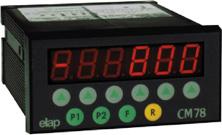 Controladores/visualizadores multi-funcionales CM78