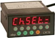 Contadores/visualizadores multi-funcionales CM78N