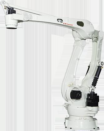 Robot de paletizado de Kawasaki Robotics