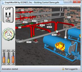 Control de procesos mediante software de visualización 3D