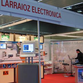 Stand de Larraioz Elektronika en la BIEMH 2010