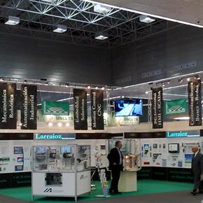 Larraioz Elektronika en Matelec 2010