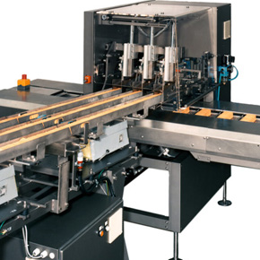 Máquina que emplea actuadores eléctricos para la automatización de sus procesos