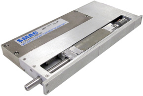 Actuador eléctrico de alta precisión fabricado por Smac
