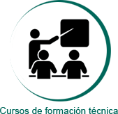 Icono cursos de formación técnica Larraioz Elektronika
