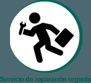 Icono servicio de reparación urgente Larraioz Elektronika