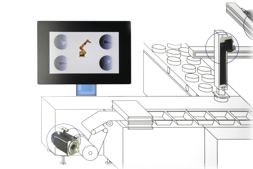 larraioz elektronika mipc controladores industriales panelables