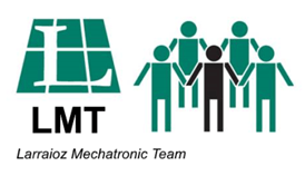 Logo Larraioz Mechatronic Team LMT english