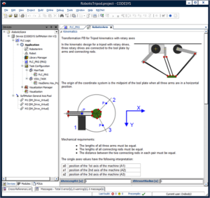 CODESYS MOTION CNC SCREENSHOT