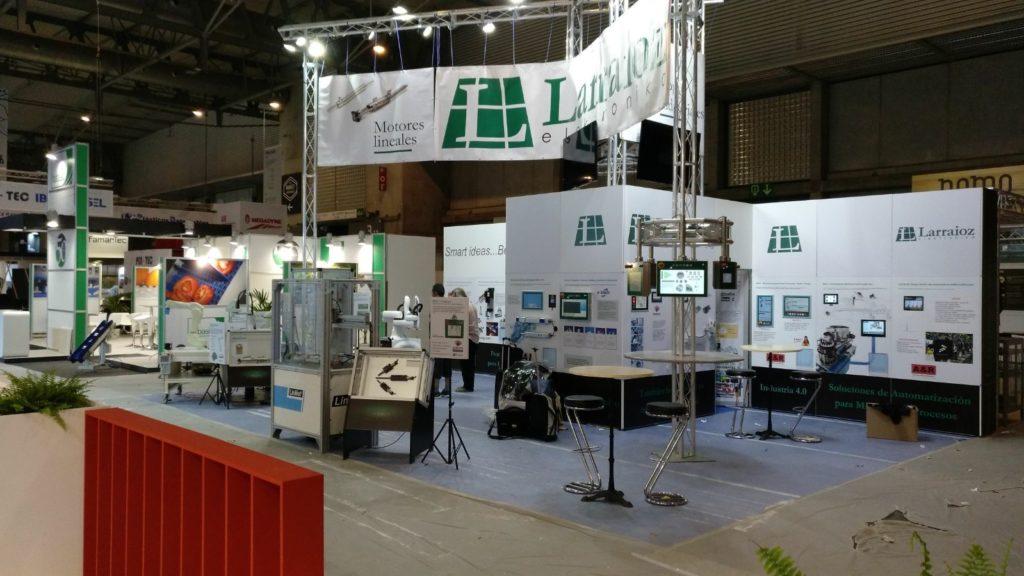 Larraioz Elektronika Feria Envase y embalaje Barcelona 2018