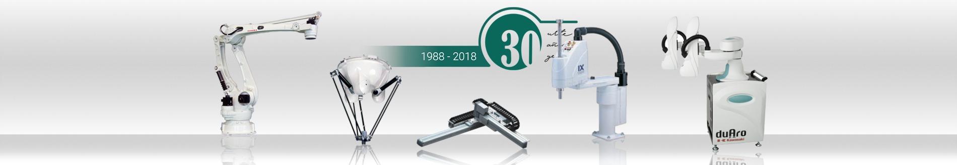 robots larraioz 30 años