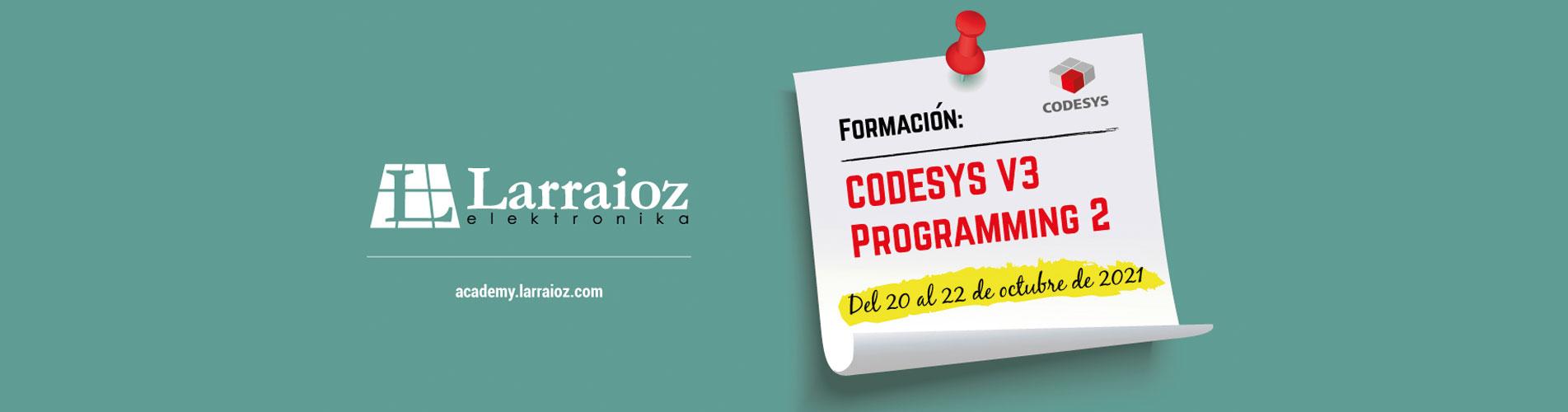 FORMACIÓN CODESYS PROGRAMMING 2 en Larraioz Elektronika