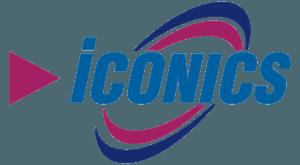 larraioz elektronika iconics logo