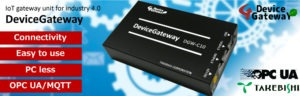 DeviceGateway takebishi larraioz elektronika opc industry4.0