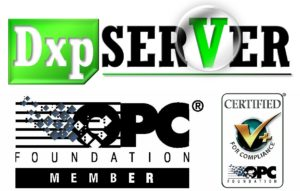 DxpSERVER takebishi larraioz elektronika software de servidor opc