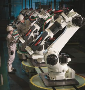 Larraioz Servicio Oficial Kawasaki Robotics