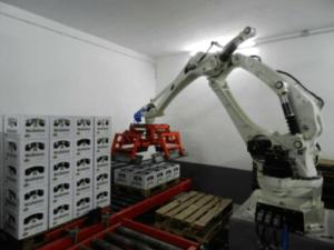 Elección del robot CP500L de la cervecera Westheimer