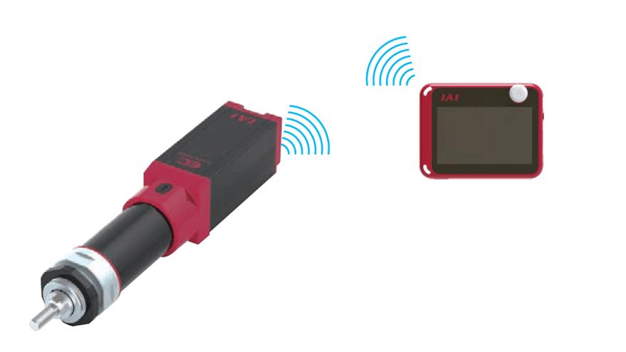 wireless bluetooth elecylinder actuador robocylinder iai electrico