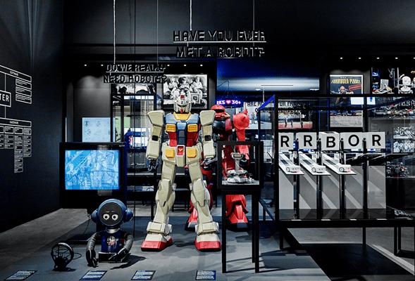 exposición Hello robot