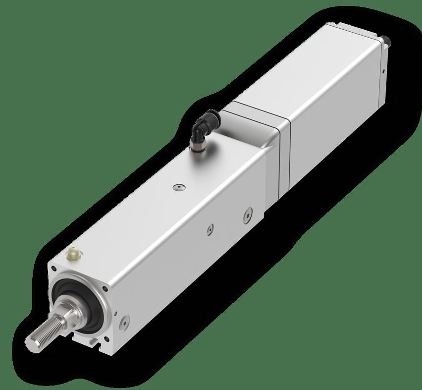 Cilindros eléctricos con protección frente a polvo/salpicaduras