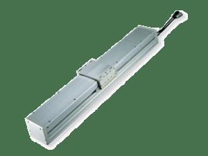 Actuadores eléctricos sin vástago con protección frente a polvo / a salpicaduras ISWA