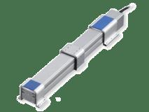 Actuadores eléctricos sin vástago con protección frente a polvo / a salpicaduras