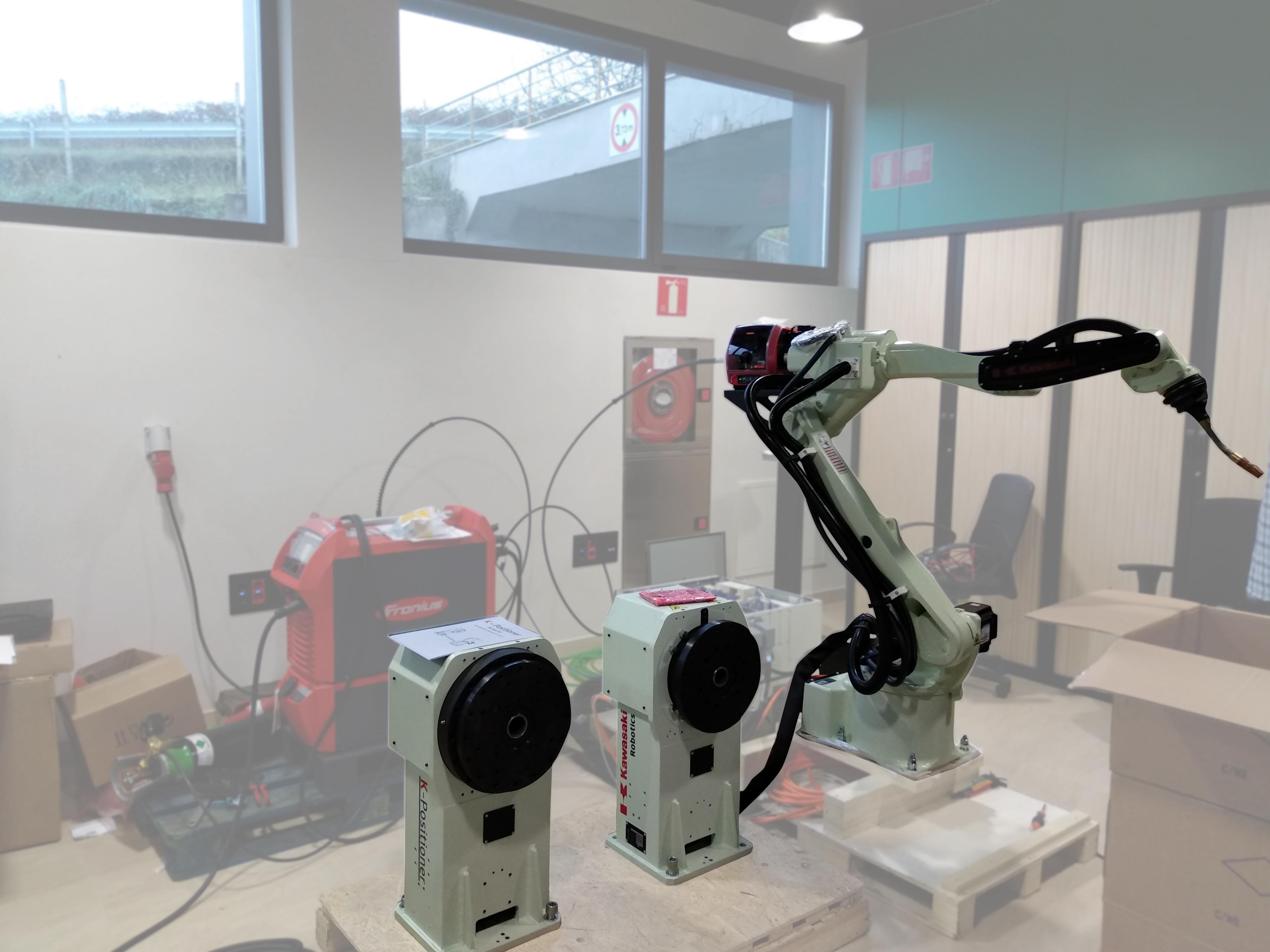 Robot Kawasaki BA006L K-Positioner PST750-H1