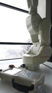 kawasaki robot RS003N formación viajero