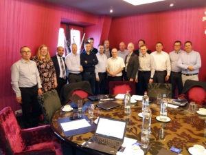 Larraioz en el Partner meeting Curtis-Wright Exlar celebrado en marzo 2020