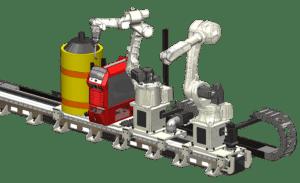 Servo track lineal - TRK500-13