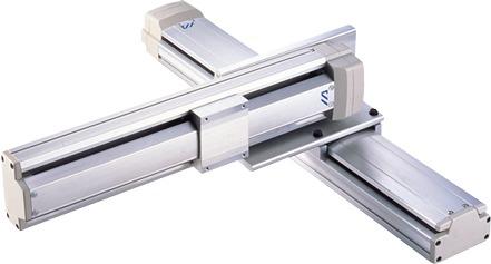 Robots cartesianos de 2 ejes XY en cantilever, eje Y sobre su base ICSA2