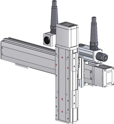 Robots cartesianos de 2 ejes YZ, eje Z sobre su deslizadera ICSB2