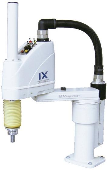 Robots Scara IAI de 4 ejes con protección frente a polvo / a salpicaduras IX