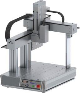 Robots cartesianos de sobremesa tipo cantilever de 4 ejes TTA