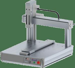Robots cartesianos de sobremesa tipo puente de 3 ejes